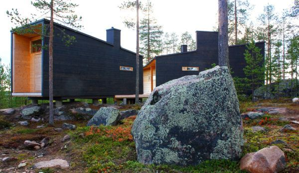 A Charming Log House In The Wilderness Of Lapland | Log homes .