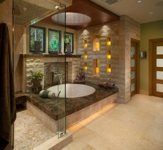 Your Relaxation Oasis: 40 Home Spa Bathroom Desig
