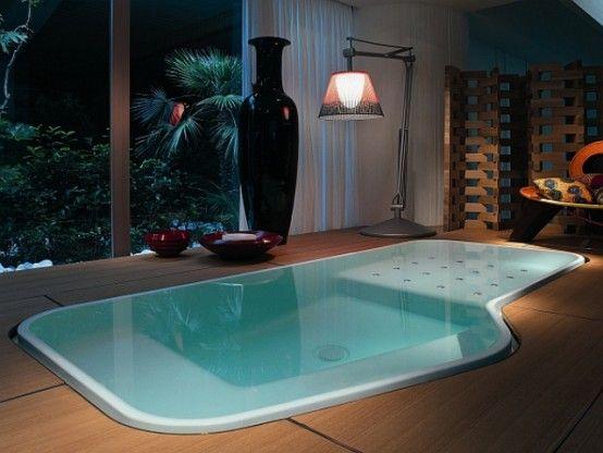Your Relaxation Oasis: 40 Home Spa Bathroom Designs   Spa bathroom .