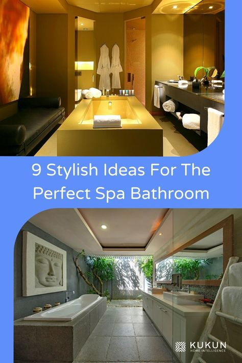 9 Smart Ideas to Create the Most Perfect Spa Bathroom   Spa .