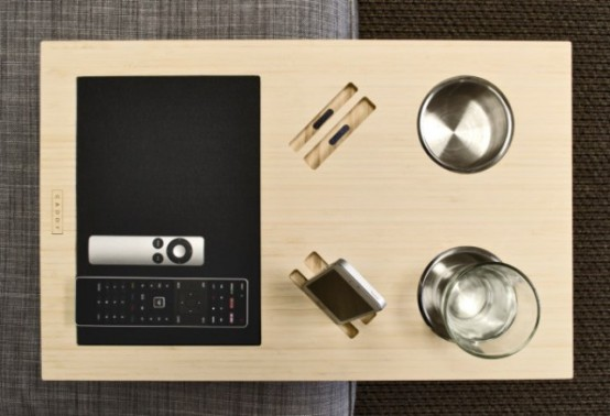 Your Sofa's Best Friend: Caddy Table - DigsDi